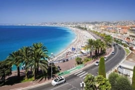 Excursiereis 8 dagen Côte d`Azur, Nice en Saint Tropez  ( effeweg )