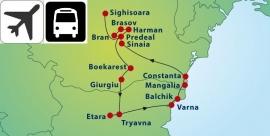 10 daagse Rondreis Roemenië & Bulgarije (Stip)