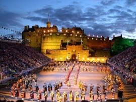 4 daagse Royal Military Tattoo - Edinburgh  (Kras)