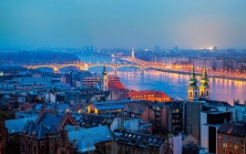 10 daagse Boedapest, Wenen en Praag  (Solmar)