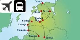 10 daagse Rondreis Baltische Staten (Stip)