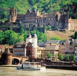 4-daagse busreis Heidelberg, Speyer en Worms (de Jong intra)