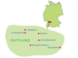 6 daagse Fietsvakantie Odenwald en Neckartal  ( Kras )