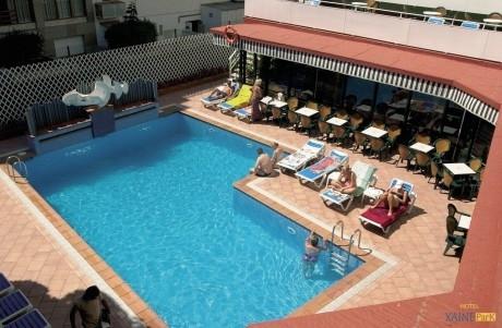 Lloret de Mar, Hotel Xaine Park***  ( de Jong Intra )