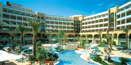 Tossa de Mar, Golden Hotel Bahia en Spa****  ( de Jong Intra )