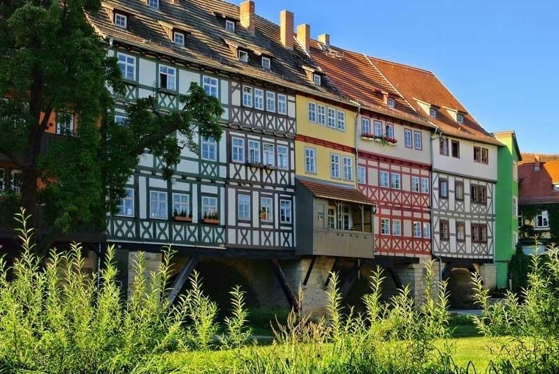 Excursiereis 5 dagen Thüringen, Erfurt en Weimar (effeweg)