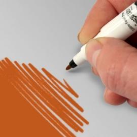 RD Double Sided Food Pen Orange