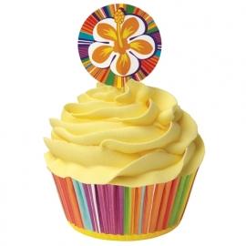 Wilton Cupcake vormpjes Combo Hibiscus 24st