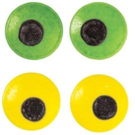 Wilton decoratie oogjes gekleurd (ca 24st)