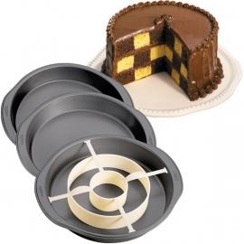 Wilton cakepan Checkerboard set