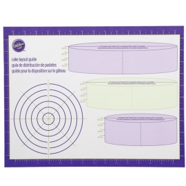 Wilton Cake Layout Guide (werkblad)