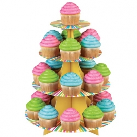 Wilton Cupcake stand Color Wheel