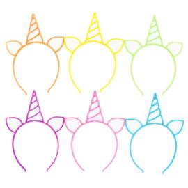 Unicorn Haarband Set 6st