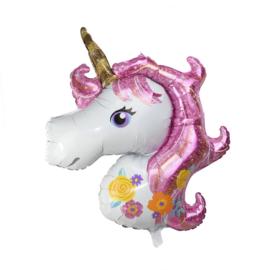Ballon Unicorn Roze 100cm