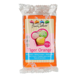 FunCakes  Rolfondant Oranje - Tiger Orange