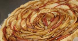 Boterkoek met appel