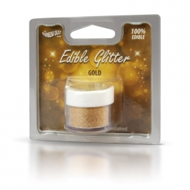 RD Eetbare Cakeglitter Gold 5gr
