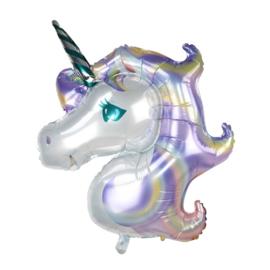 Ballon Unicorn Paars 100cm