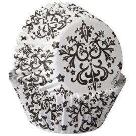 Wilton Cupcake vormpjes Damask 75st