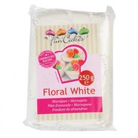 Marsepein Wit Floral - White