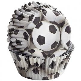 Wilton Cupcake vormpjes Voetbal 36st