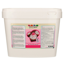 FunCakes Enchanted Cream 4,5kg emmer