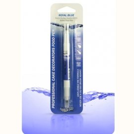 RD Double Sided Food Pen Royal Blue