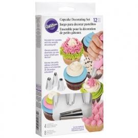 Wilton Cupcake decoratieset 12 delig