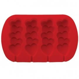 Wilton Siliconen bakvorm Heart Pops Mold