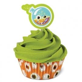 Wilton Cupcake vormpjes Combo Pack Halloween Eyeballs 24st