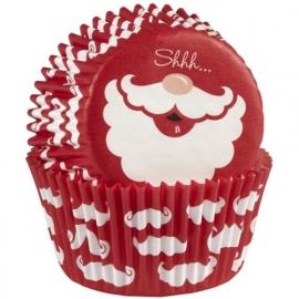 Wilton Cupcake vormpjes Santa 75st