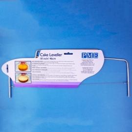 PME professional taartsnijder / taartzaag / cake leveler 46cm