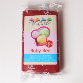FunCakes Rolfondant Rood  Ruby -  Red