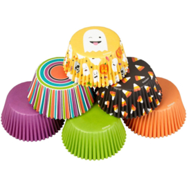 Wilton Cupcake vormpjes Emoji Ghost 150st