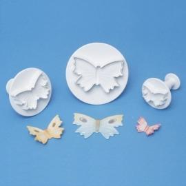 PME uitstekers vlinder uitdruk set/3st