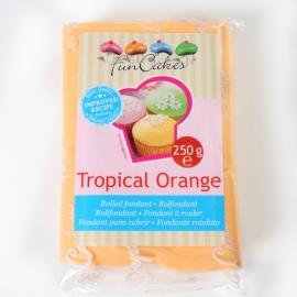 FunCakes Rolfondant Oranje - Tropical -  Orange