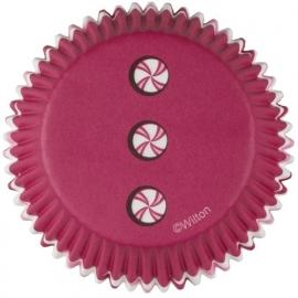 Wilton Cupcake vormpjes Santa 50st