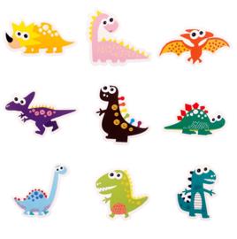 Dino Taart Decoratie Topper Set