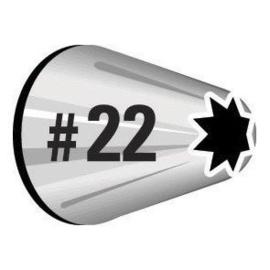 Wilton spuitmondjes nr. 22