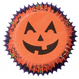 Wilton Cupcake vormpjes Jack-O-Lantern 75st