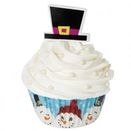 Wilton Cupcake vormpjes Combo Merry & Sweet 24st