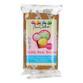 FunCakes Rolfondant Bruin - Teddy Bear Brown