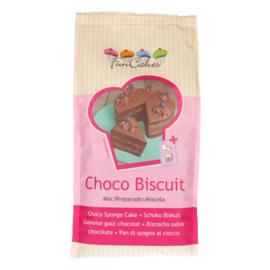 FunCakes Mix voor Biscuit Chocolade 1kg
