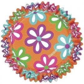 Wilton Cupcake vormpjes Flowers 36st