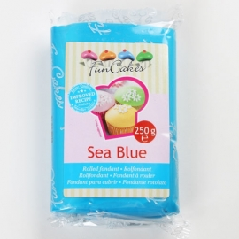 FunCakes Rolfondant Blauw - Sea Blue