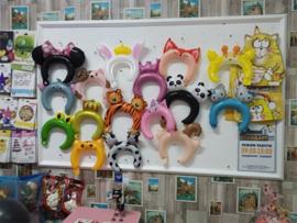 Ballon Haarband Diadeem 5st