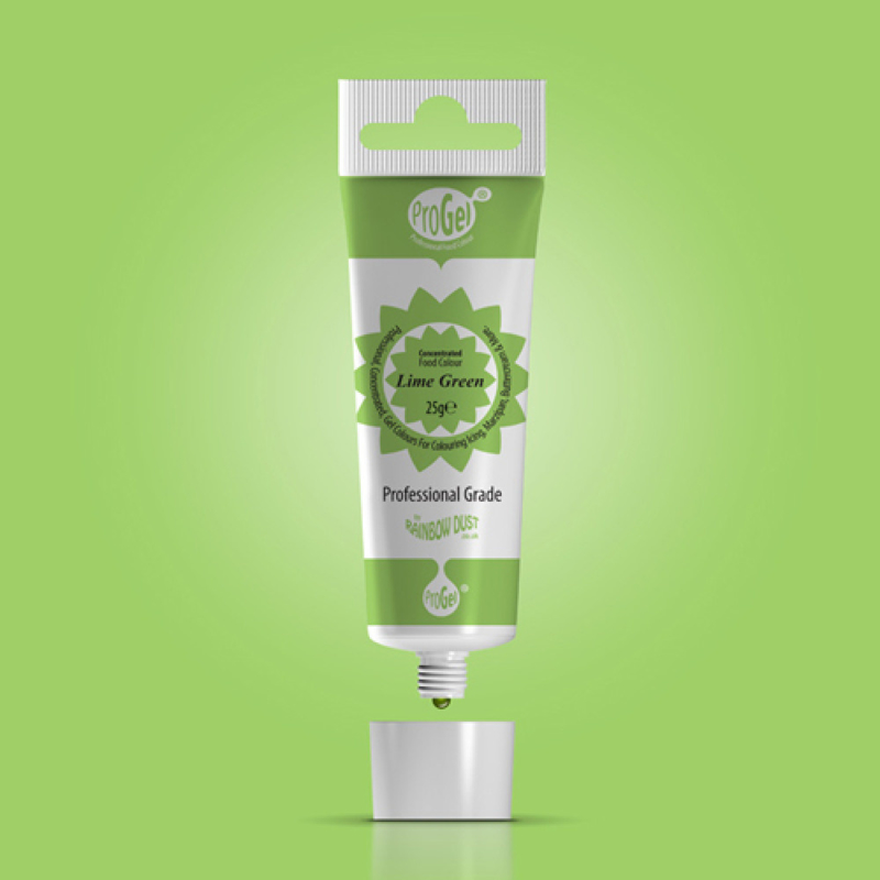 RD ProGel® Concentrated Colour - Lime Greem - Blisterpack