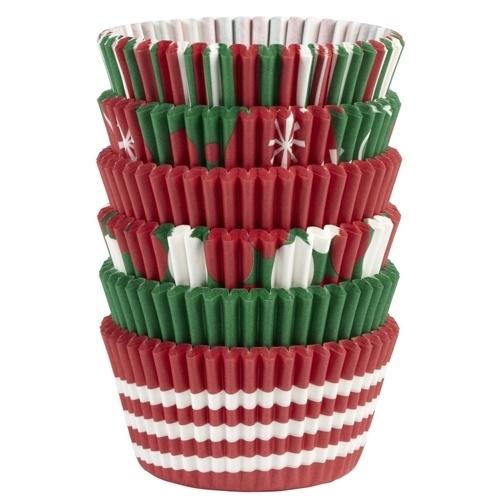 Wilton Cupcake vormpjes Holiday 150st