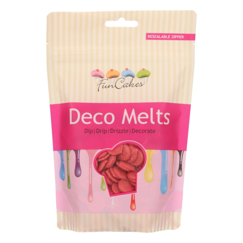 Funcakes Candy Melts Rood 250g