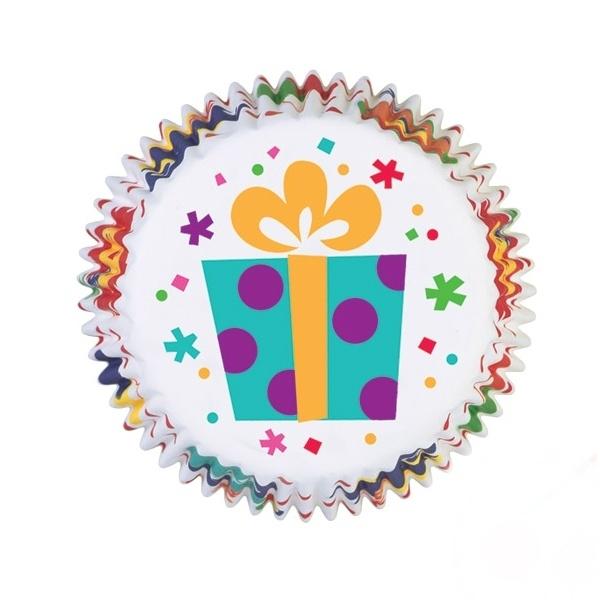 Wilton Cupcake vormpjes Party Time 75st